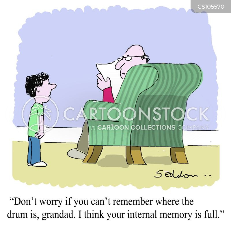 Internal Memory Cartoons and Comics - funny pictures from