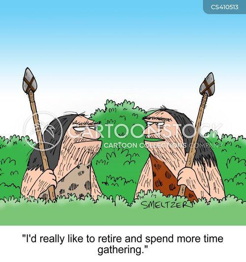 Hunter-gatherer Images Hunter Gathering Cartoon 4 of