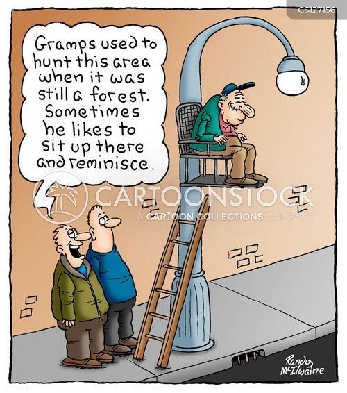 gramps cartoon