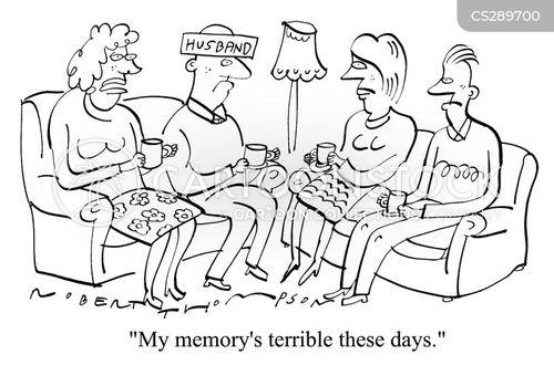 senile cartoon