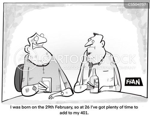 leap year cartoon