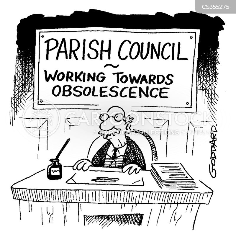 parish councils cartoon