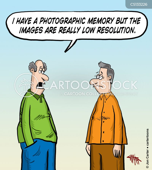 photographic memory cartoon