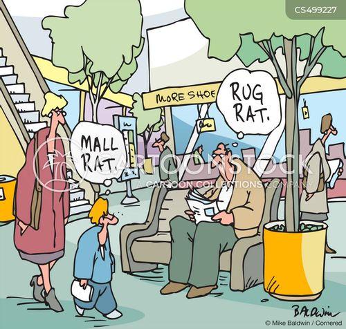 mall rat cartoon