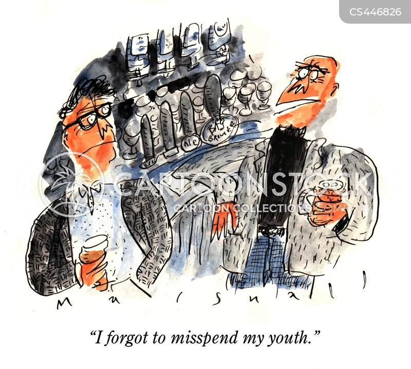 misspent youth cartoon