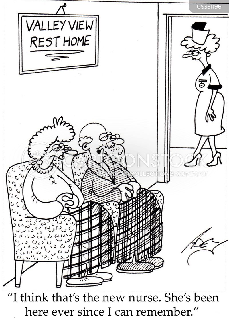 gods waiting room cartoon