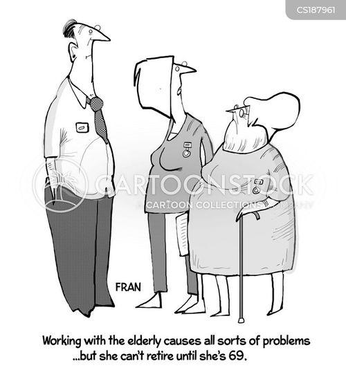 nursing career cartoon