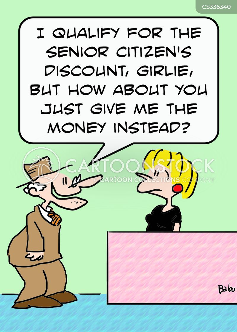 money off cartoon