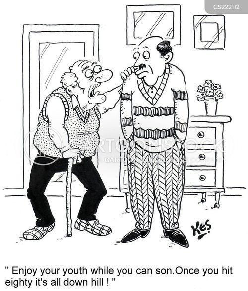 eighty cartoon