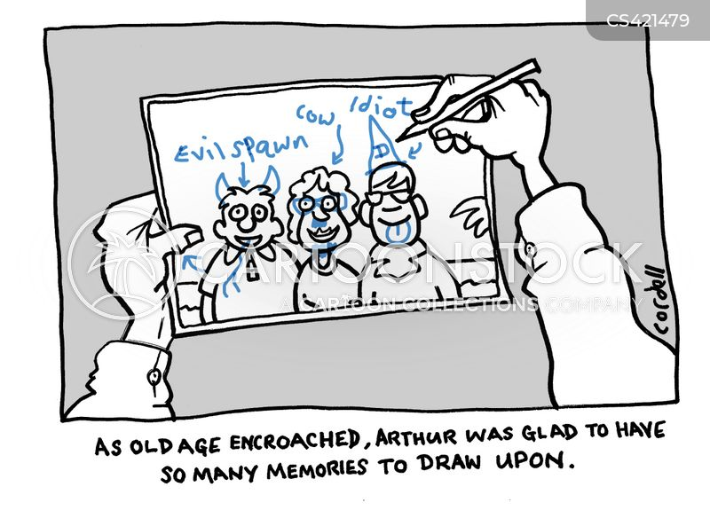 good memories cartoon