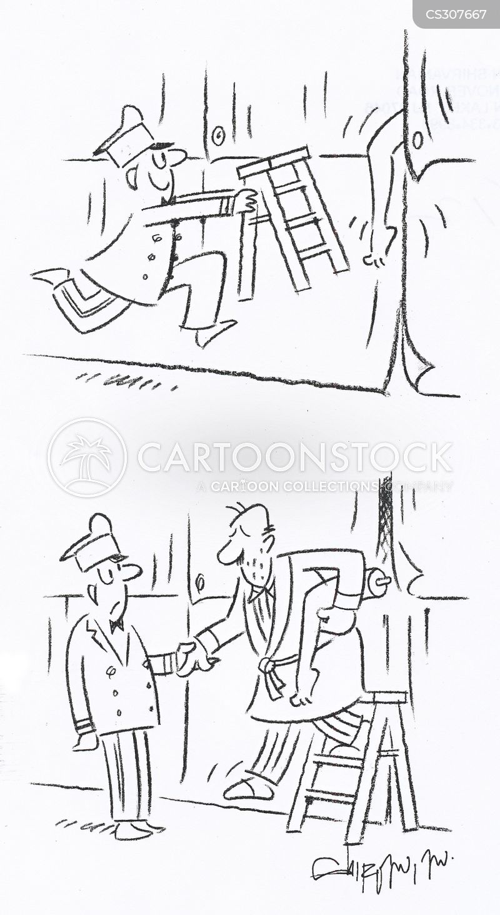 assisted cartoon