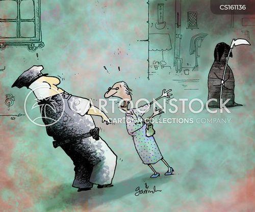 senior citzens cartoon