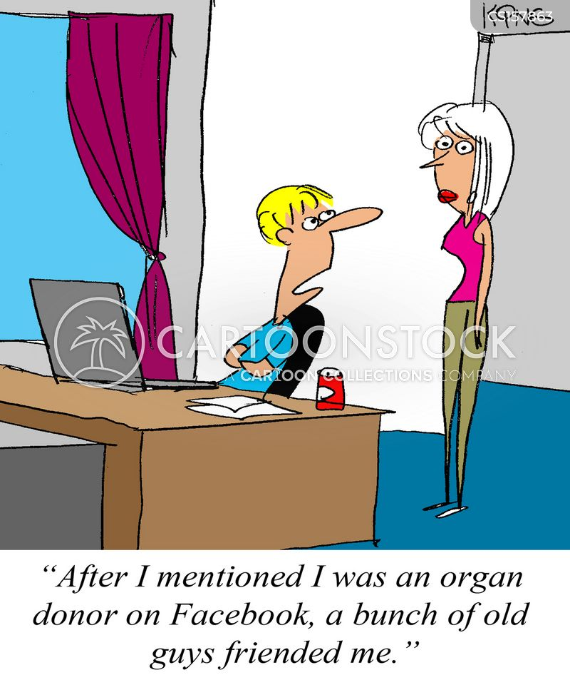 organ donors cartoon