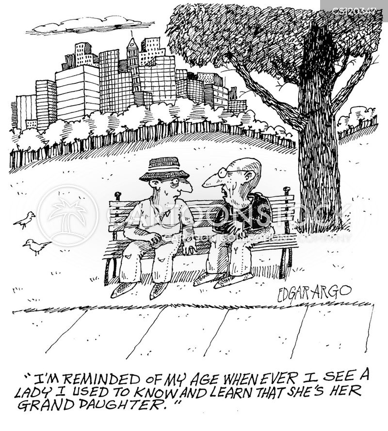 old timers cartoon