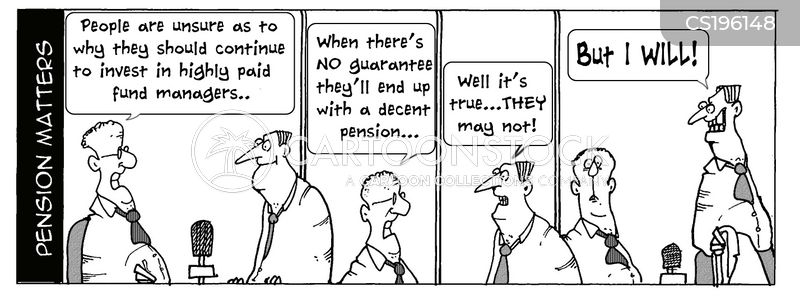 investment fund cartoon