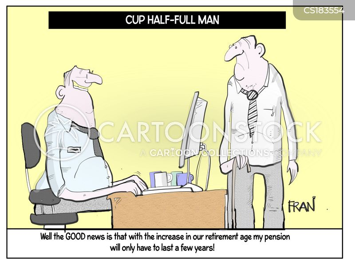 retirement funds cartoon