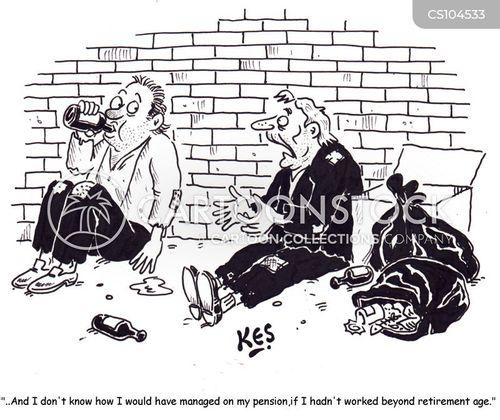 private pension cartoon