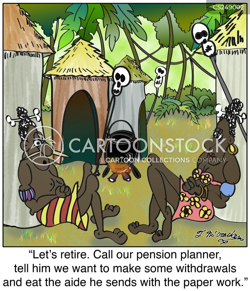 pension planner cartoons and comics funny pictures from cartoonstock