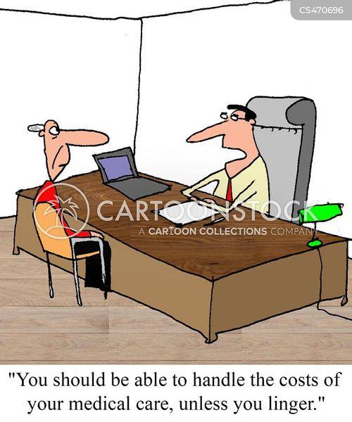 hospital costs cartoon