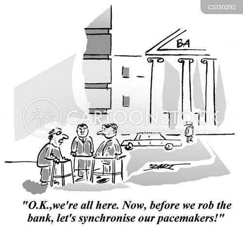 synchronizing cartoon