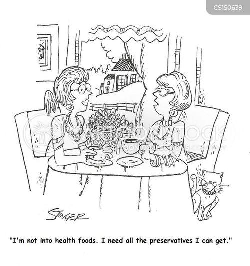 preservative cartoon