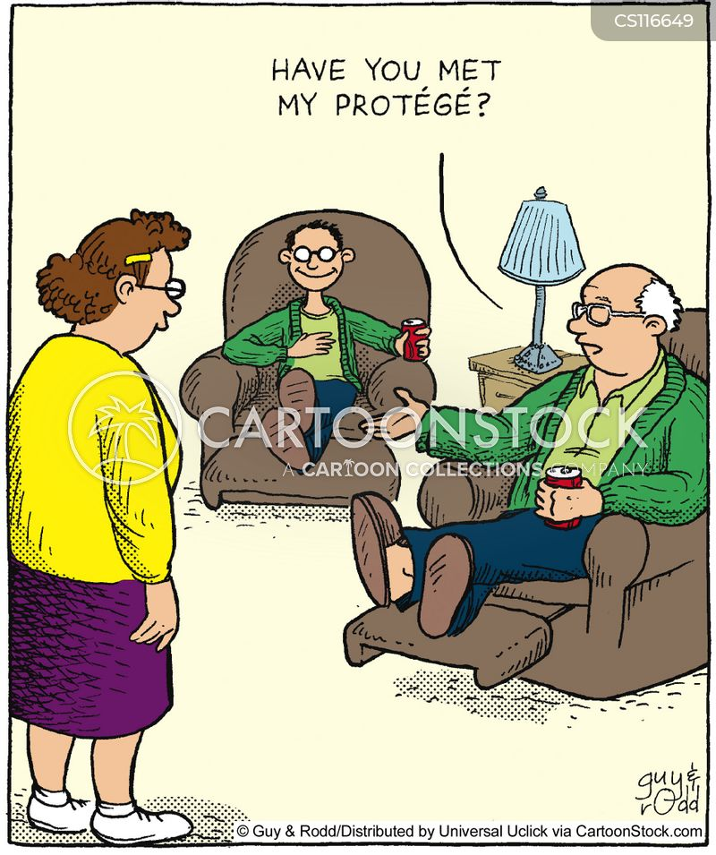 recliners cartoon