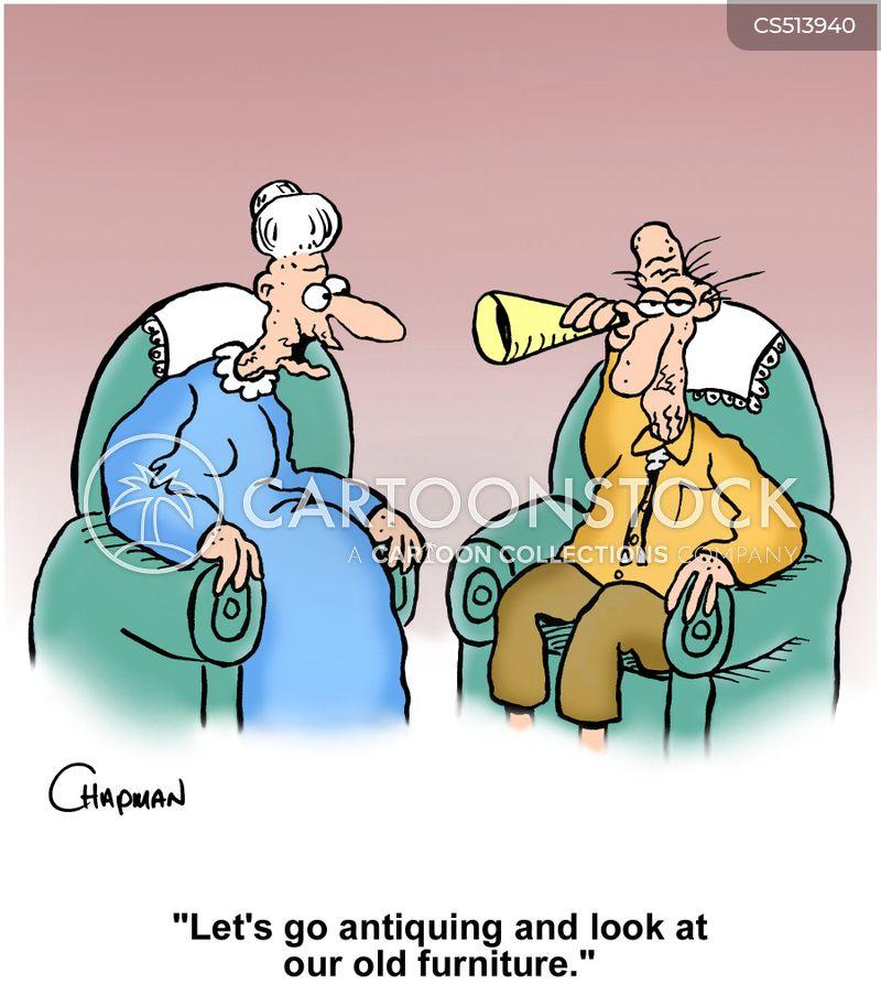 ear trumpet cartoon