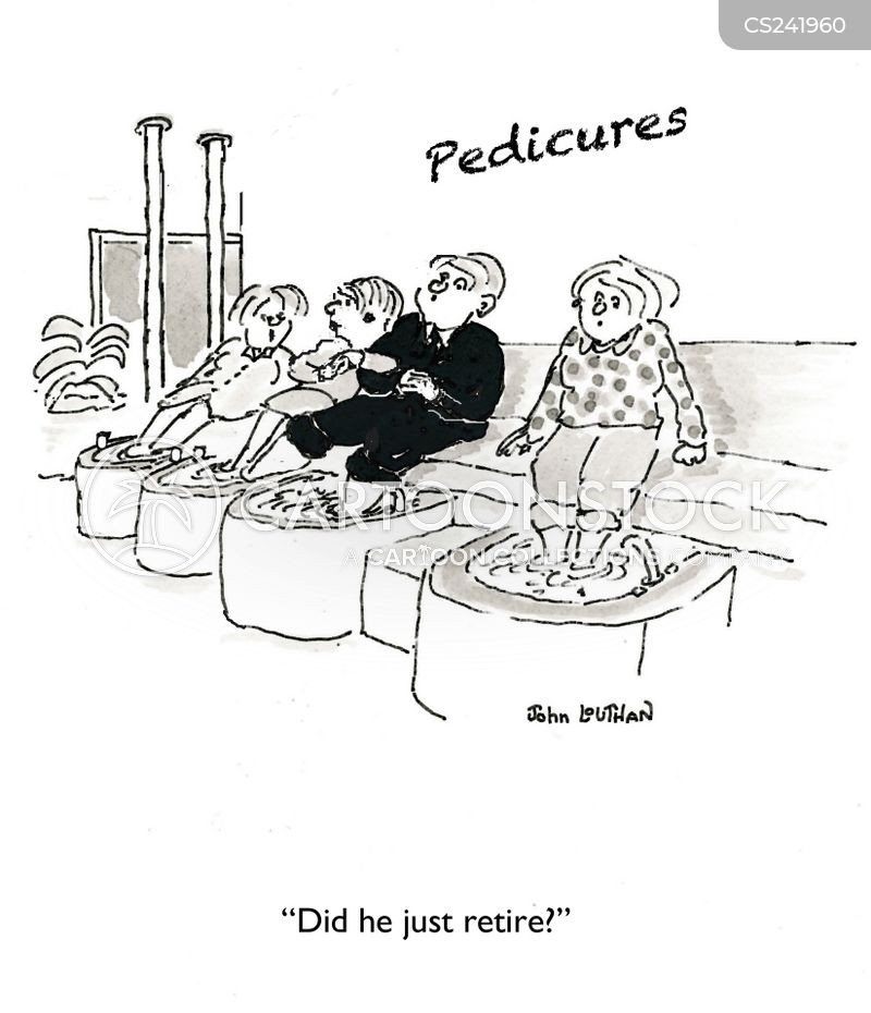 Pedicures cartoons, Pedicures cartoon, funny, Pedicures picture, Pedicures pictures, Pedicures image, Pedicures images, Pedicures illustration, Pedicures illustrations