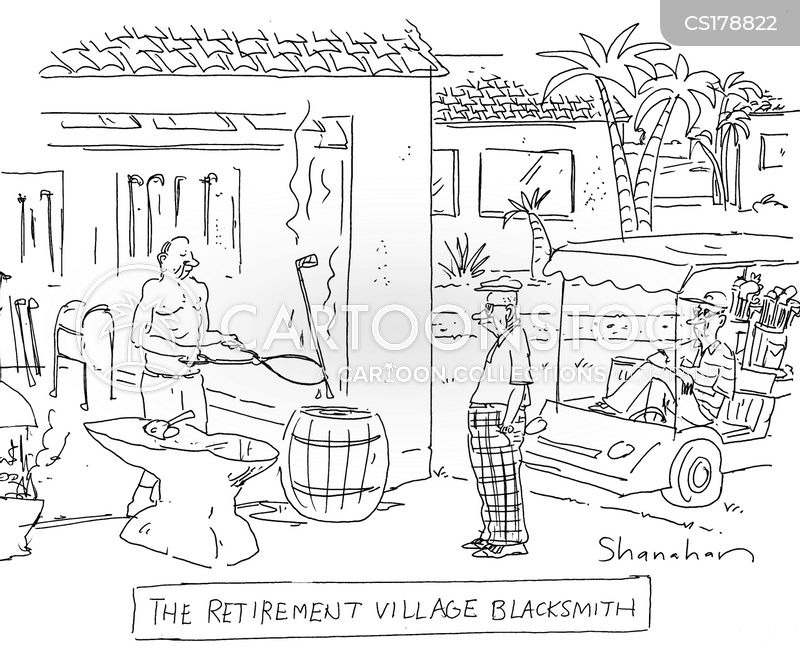 village cartoon