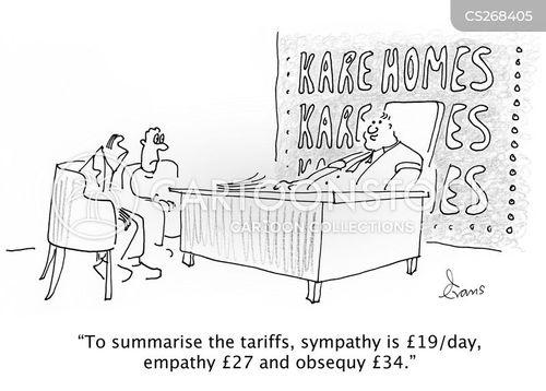 tariff cartoon