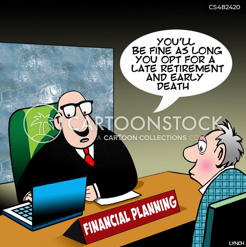 future planning cartoon