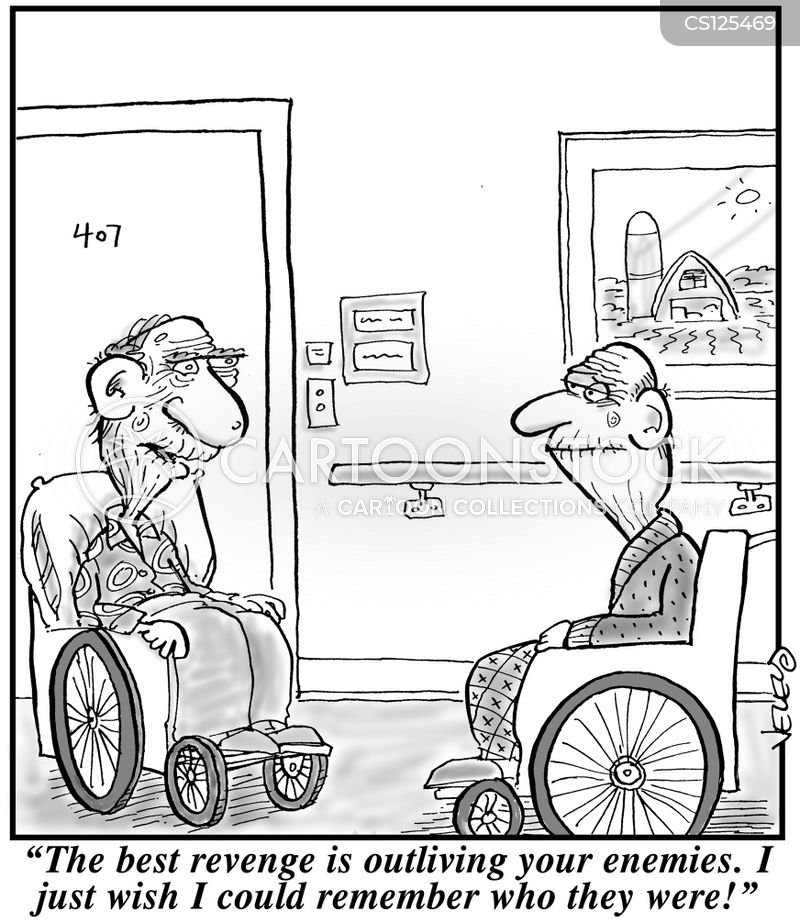 care home cartoon