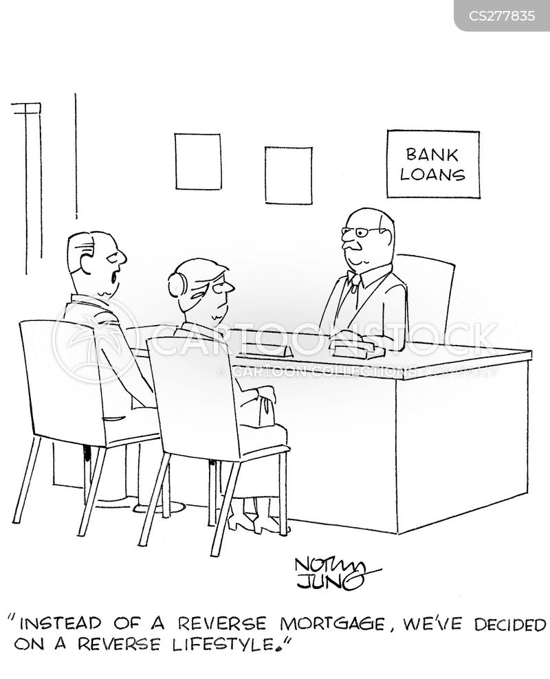 reverse mortgage cartoon