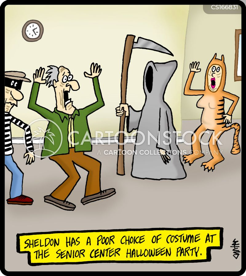 fancy dress cartoon