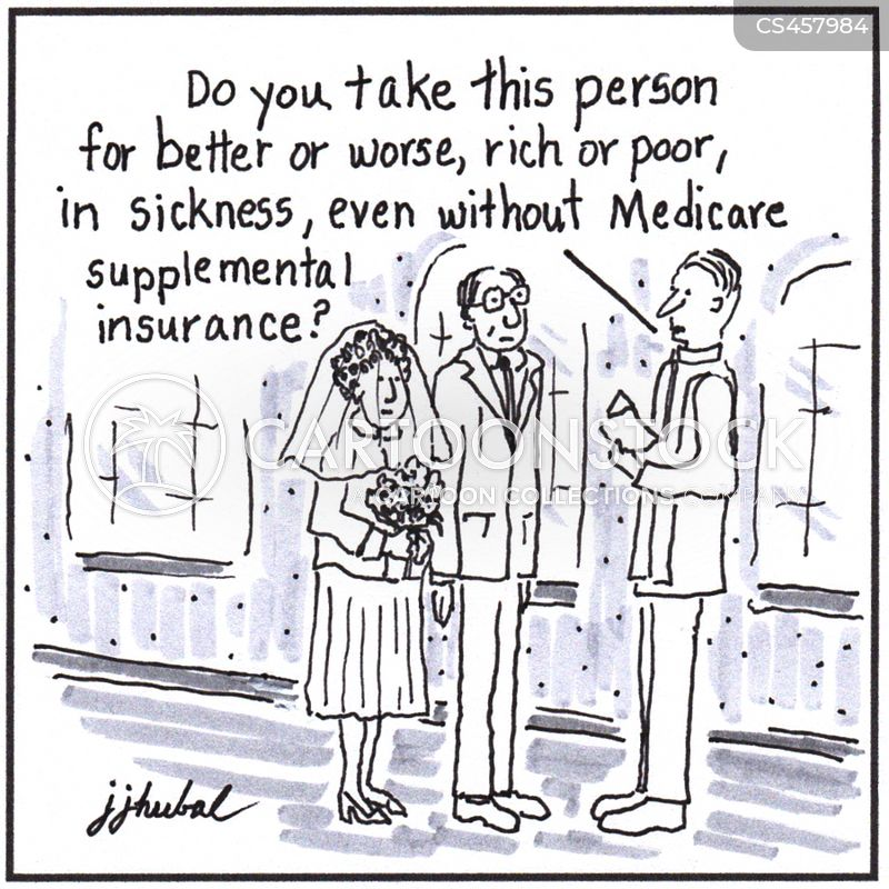 Image result for cartoon poor health insurance