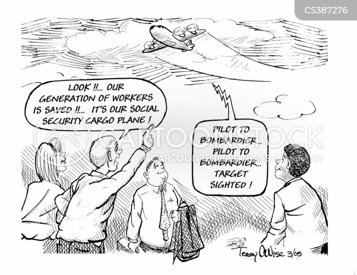 cargo plane cartoon