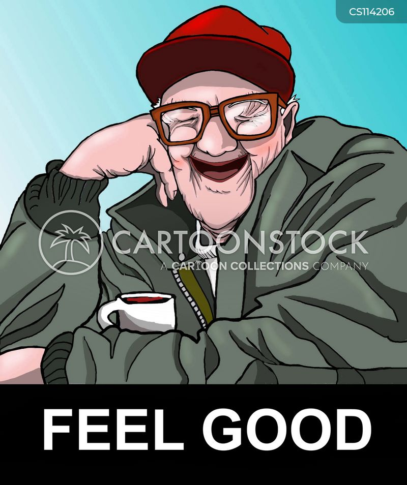 feeling good cartoon