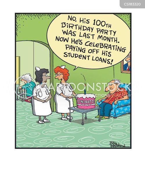loan repayments cartoon