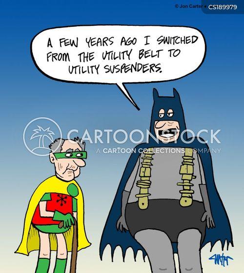 comic book characters cartoon