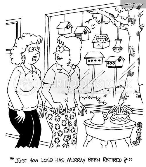 preoccupation cartoon