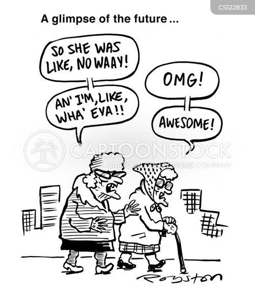 Teen Speak Cartoons And Comics Funny Pictures From Cartoonstock