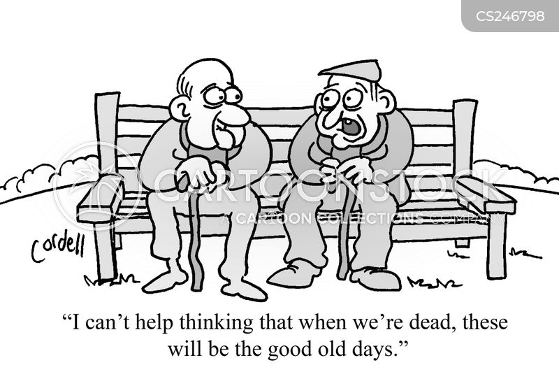 the good old days cartoon