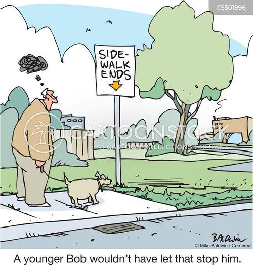 useless signs cartoon