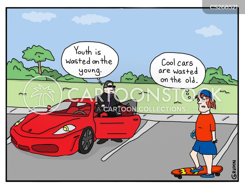 Cool Cars Cartoon 1 Of 28