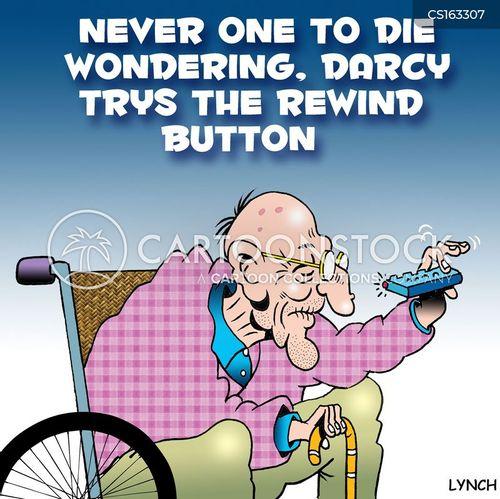 rewinding cartoon