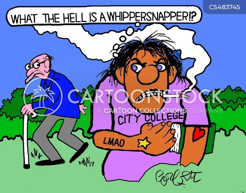 whipper-snappers cartoon