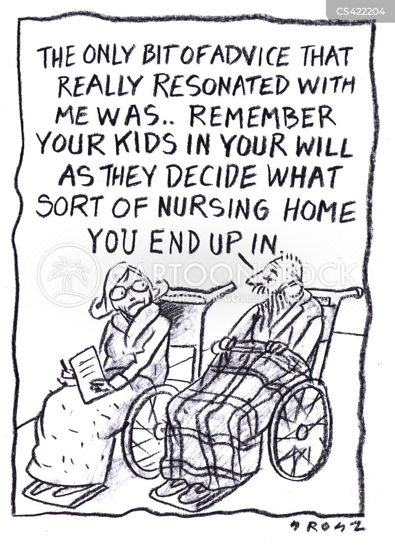 palliative care cartoon