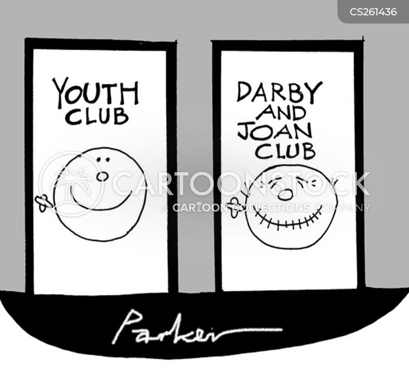 youth club cartoon