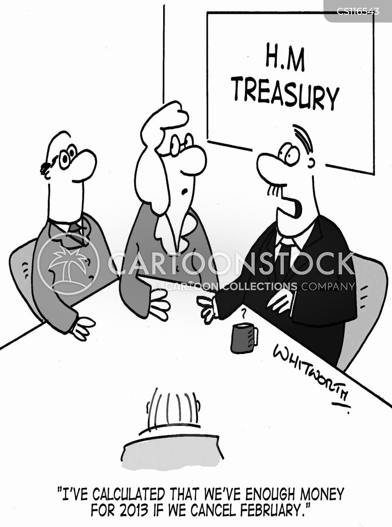 public debt cartoon