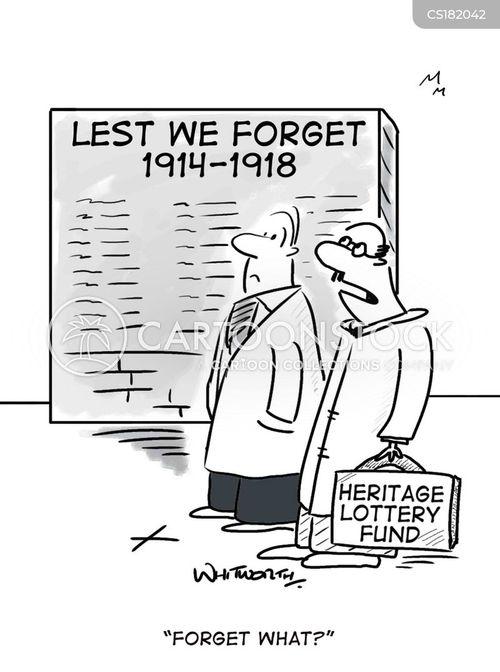 the great war cartoon